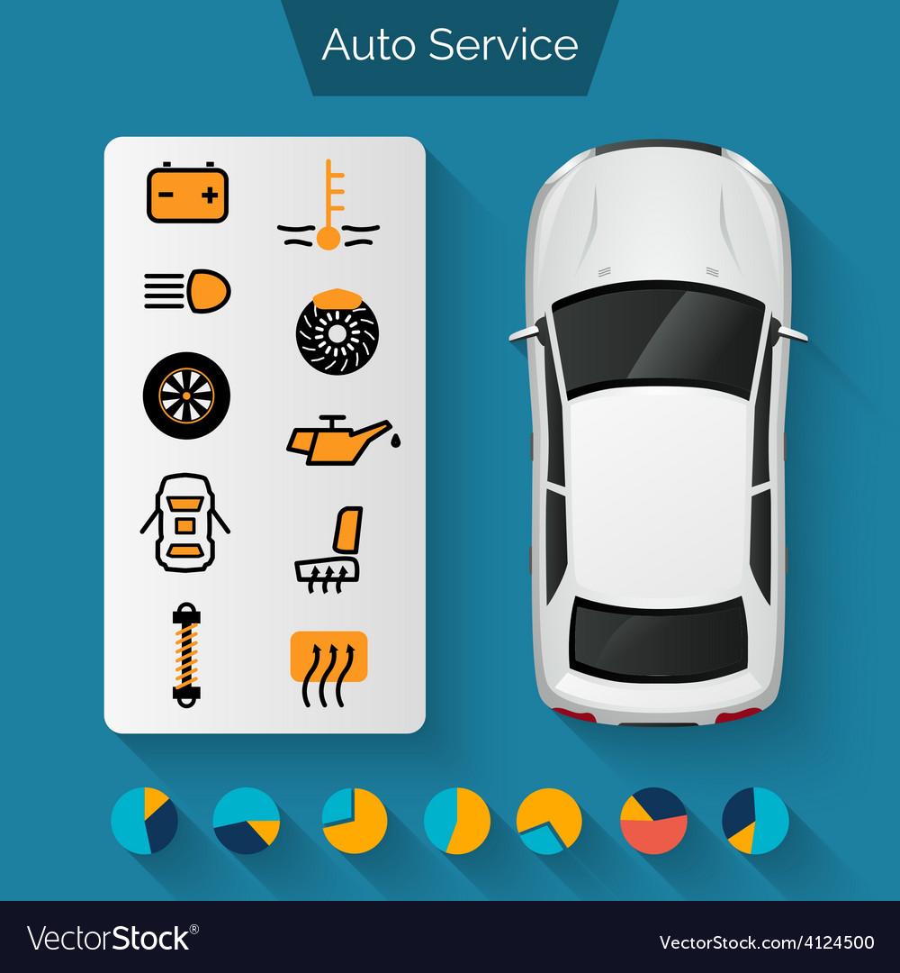auto-service-infographics-vector-4124500