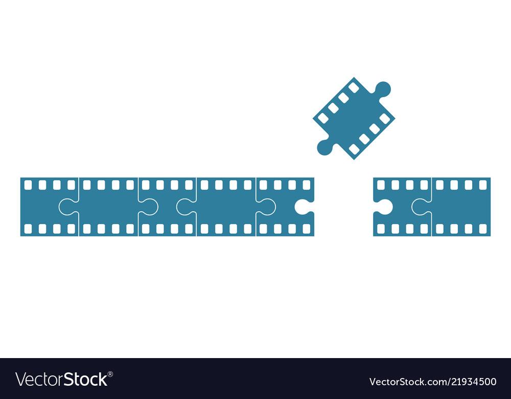 Film stock as jigsaw