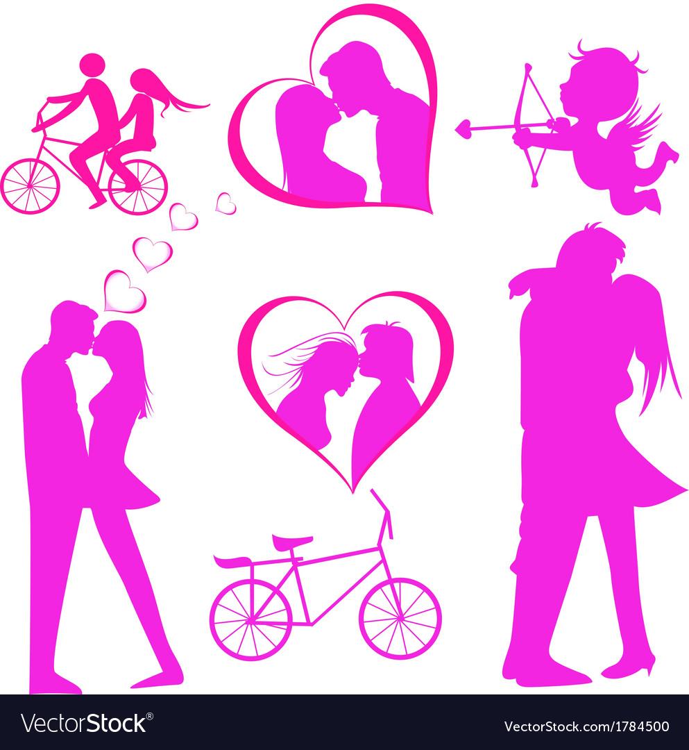 Valentines Day Icon Royalty Free Vector Image Vectorstock