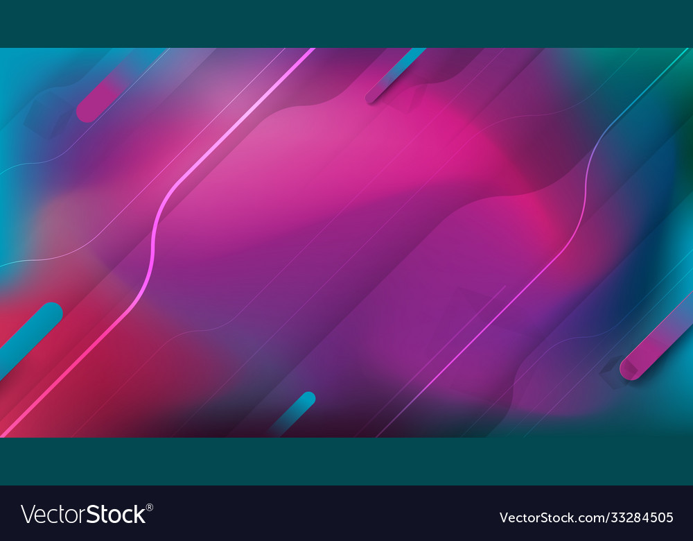 Abstract fluid shapes composition gradient