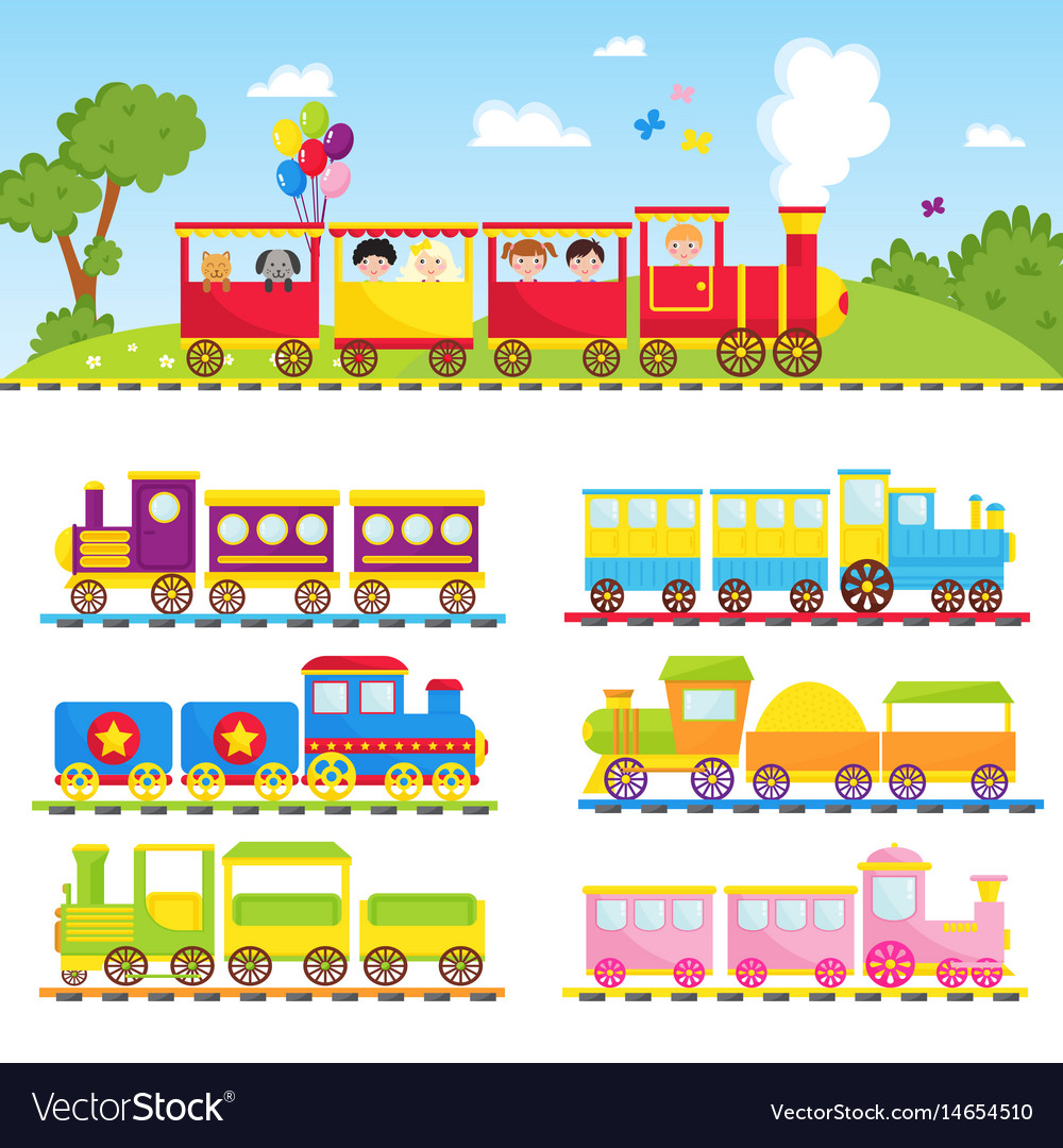 Game gift kids train travel railroad
