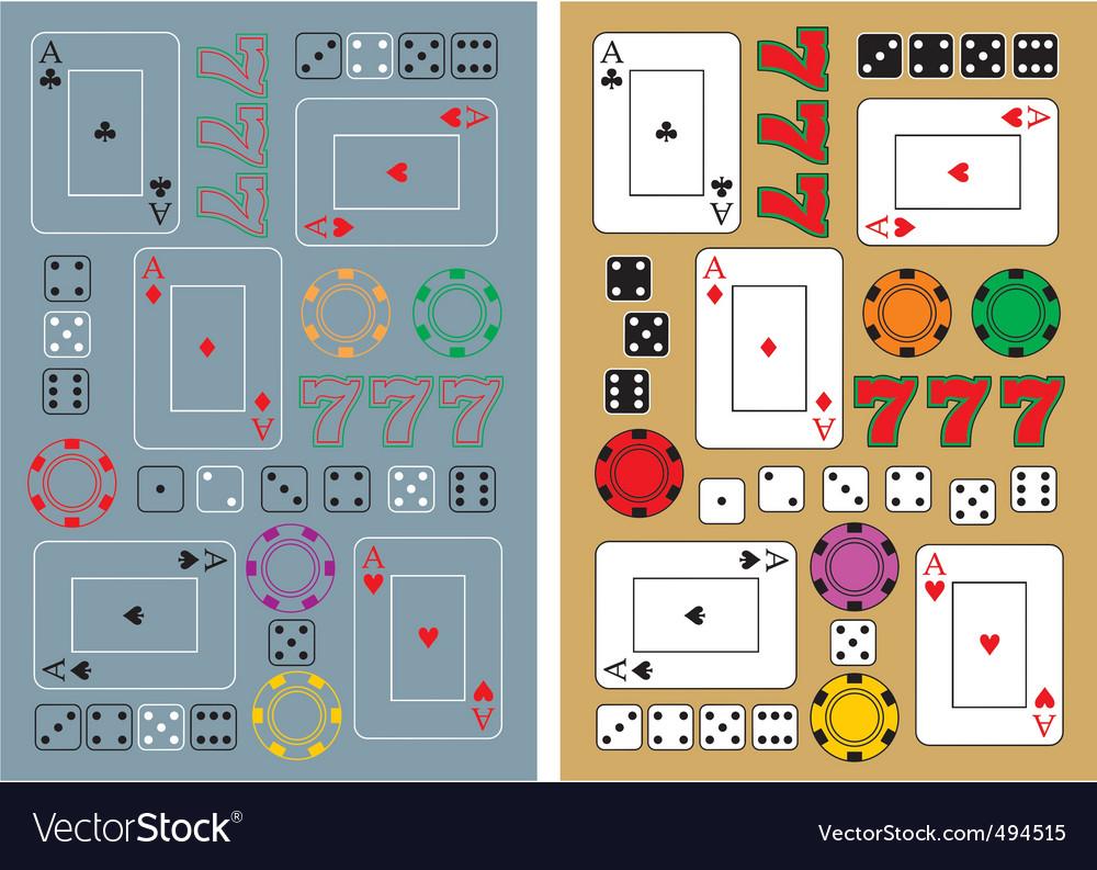 Casino seamless backgrounds
