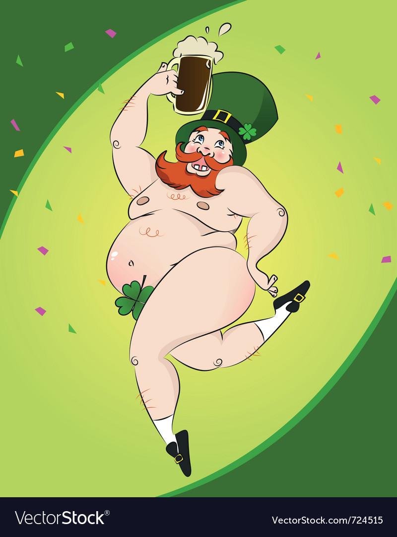 Irish u were naked leprechaun costume