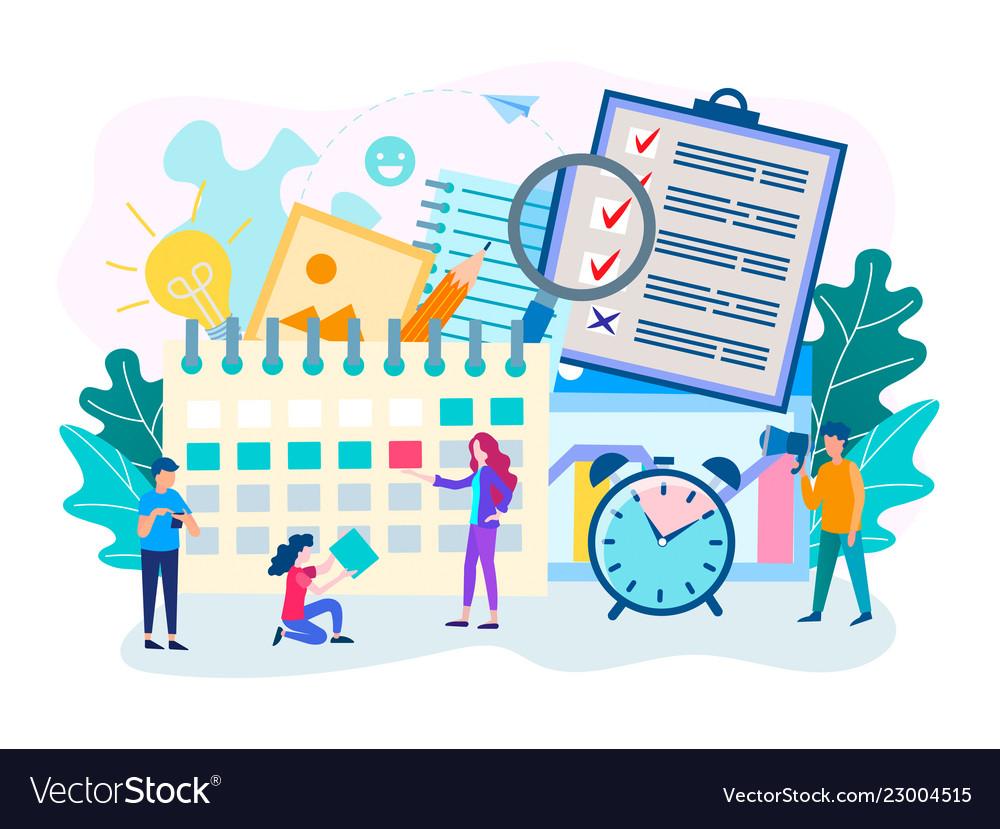 Time management planning deadline