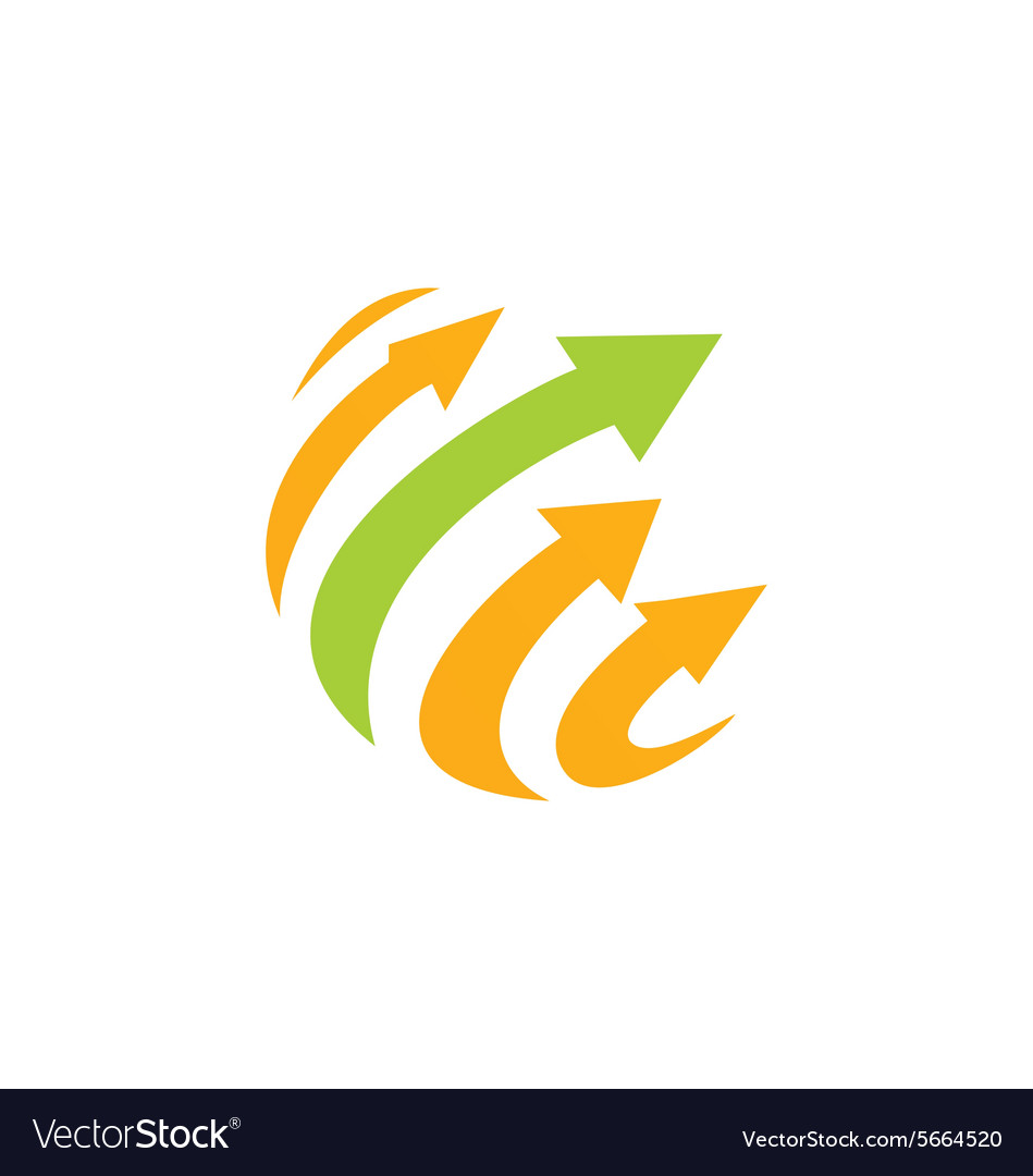 Arrow sphere technology logo