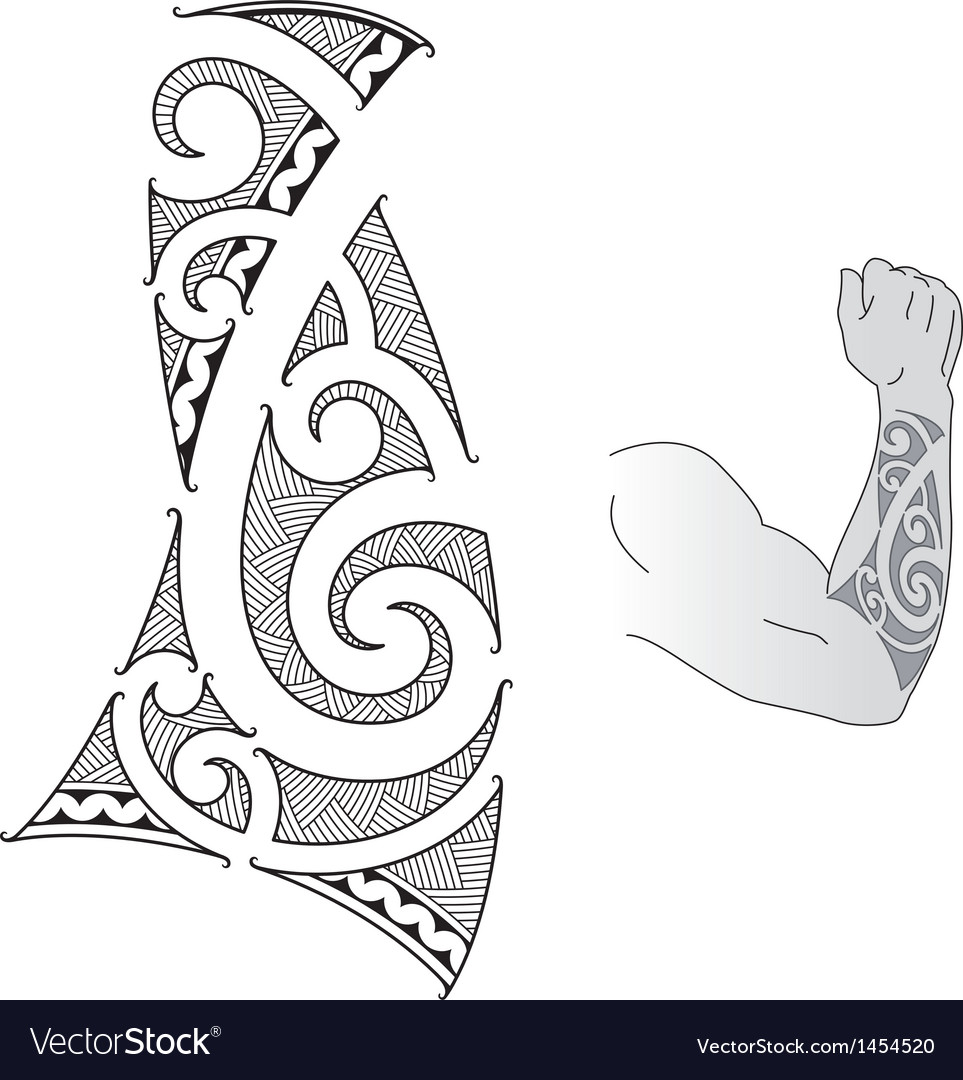 Maori forearm