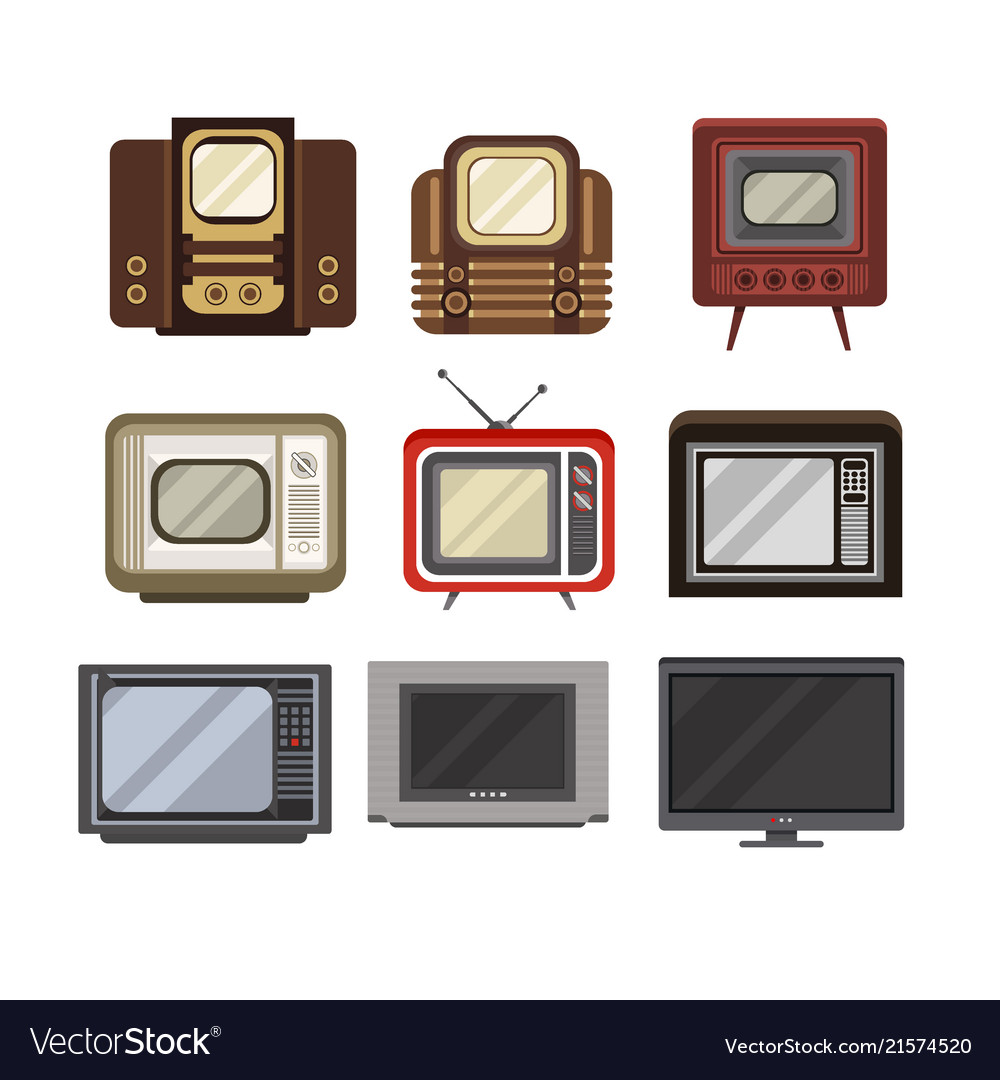 Television receivers set tv evolution from