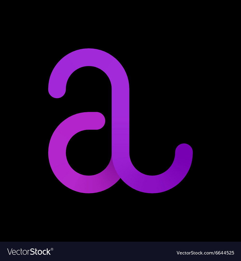 Logo templates of letter A logotype letter A