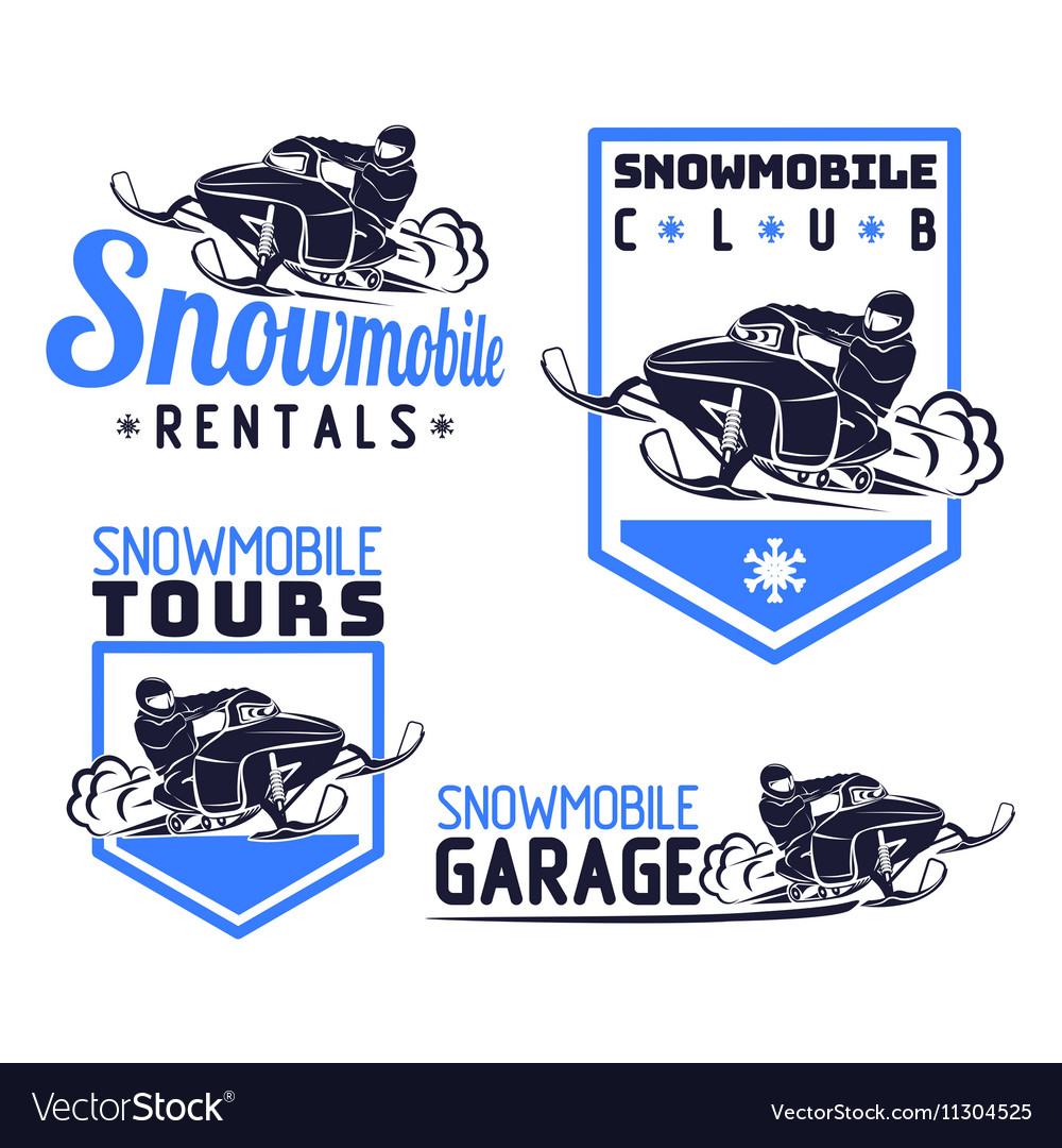 Snowmobile logo