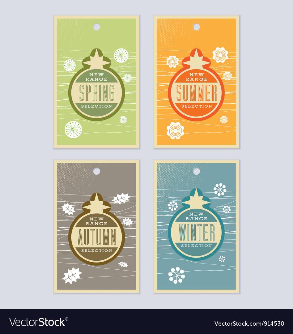 4 season labels