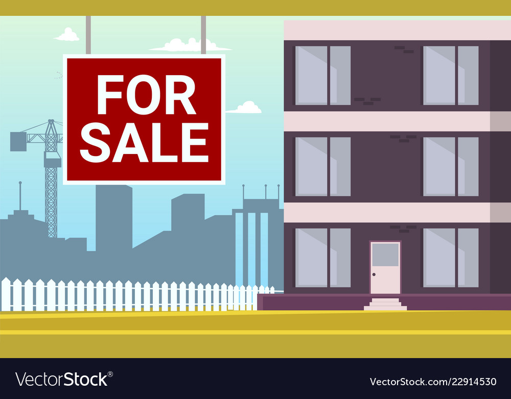 Cartoon Apartment For Vector Image