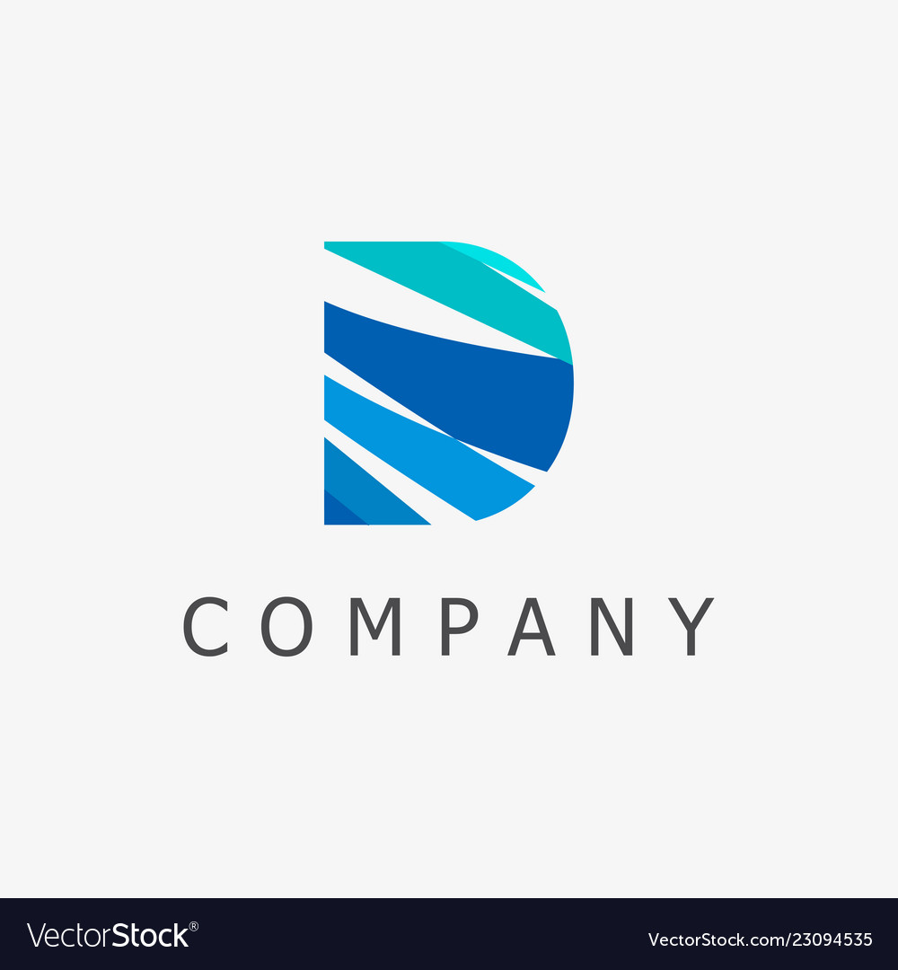 D logo template
