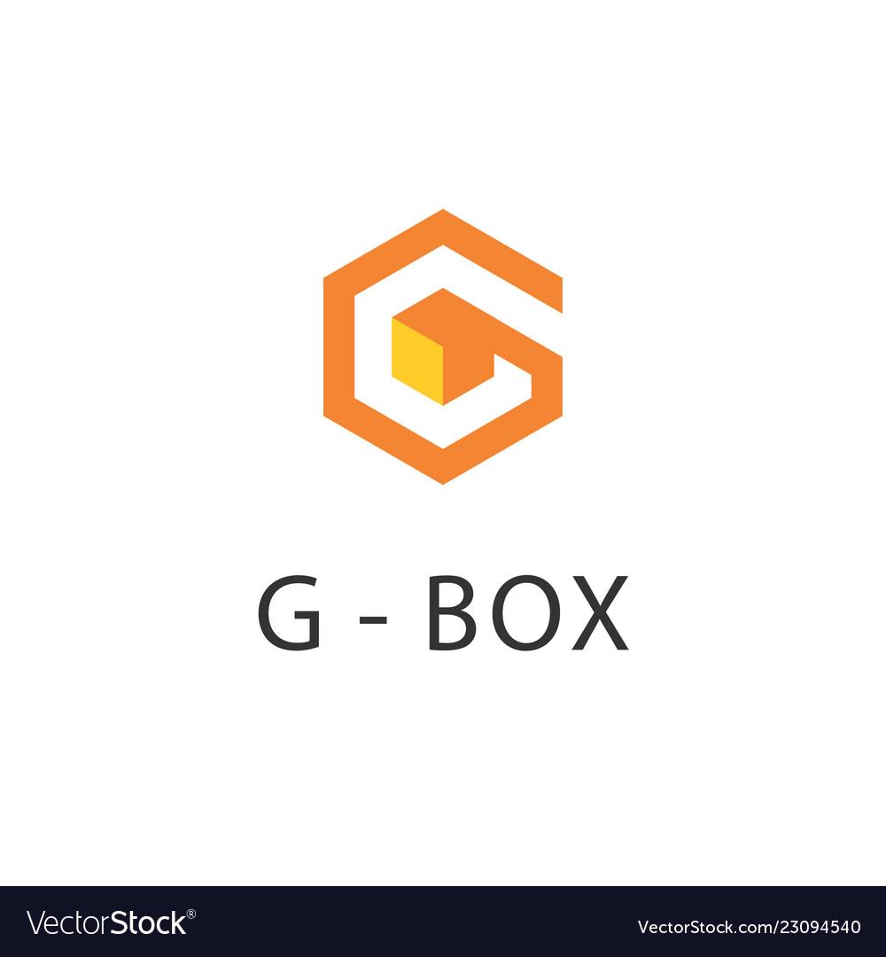 Hexagonal g logo