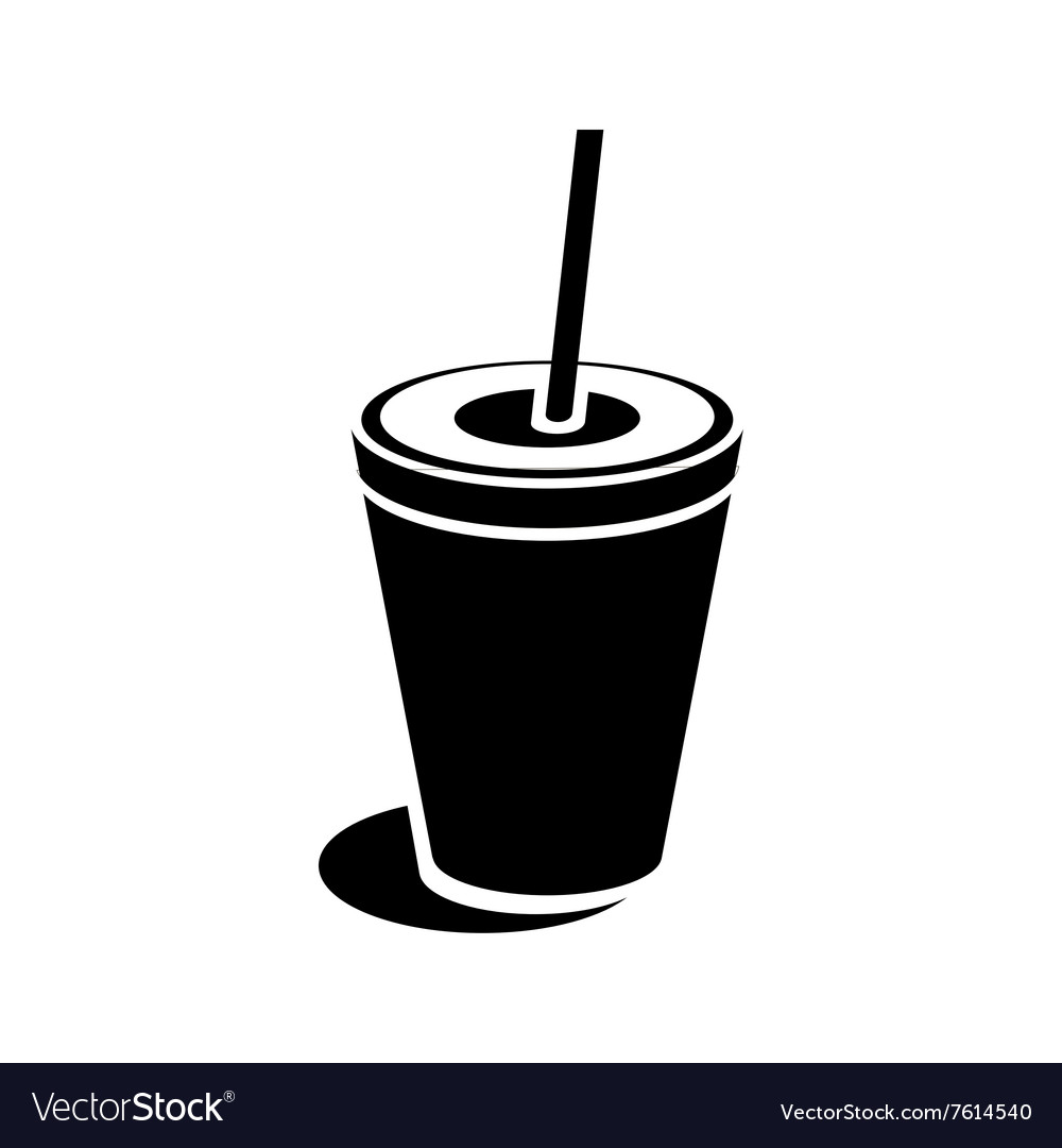 Paper cup icon simple style