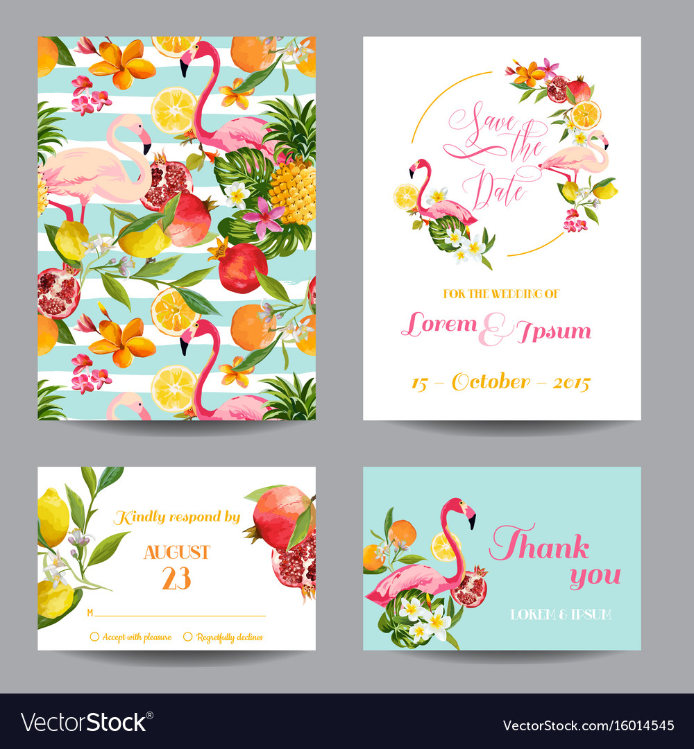 Wedding cards in floral background