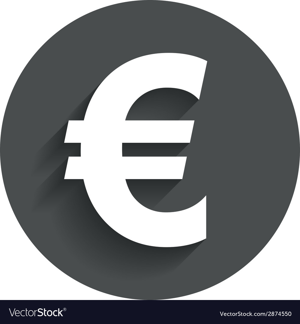 OnlineLabels Clip Art - Euro Sign