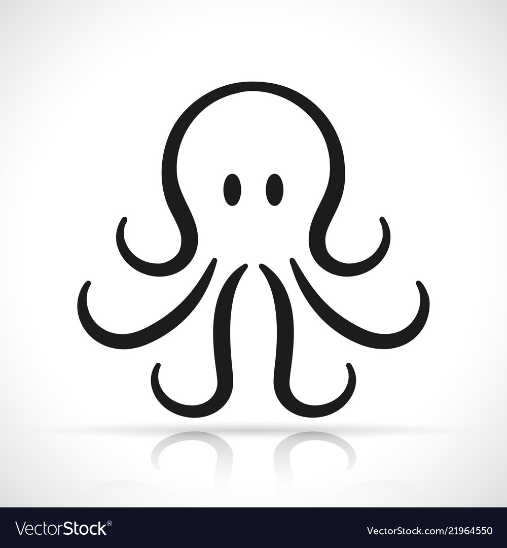 Octopus icon design