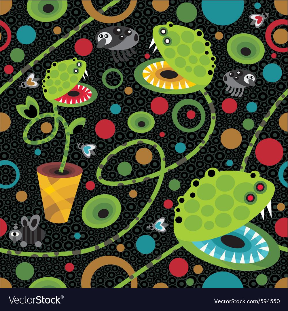Venice flytrap vector image