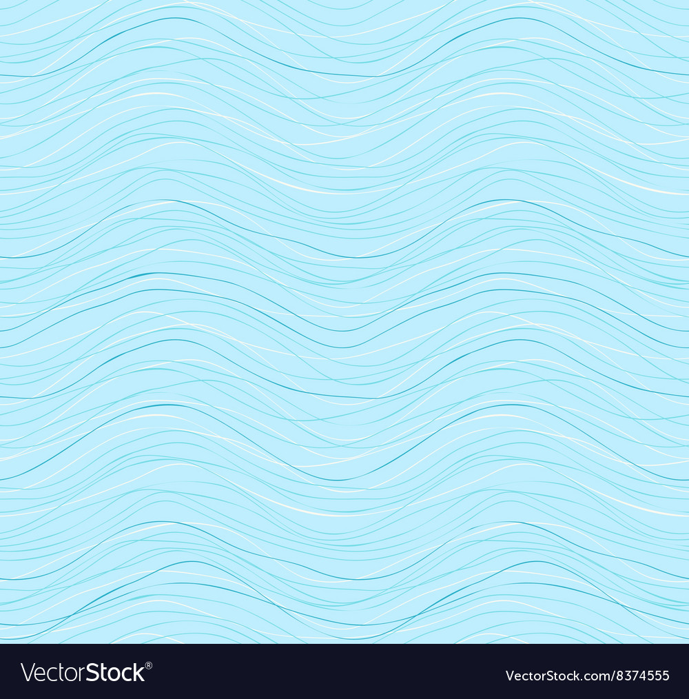 Colorful stripes seamless wavy pattern