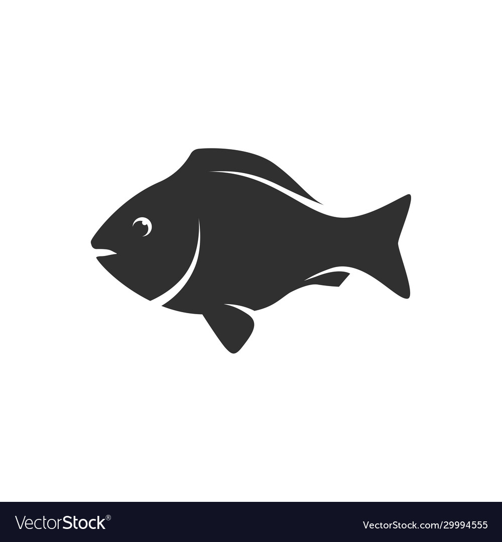 Fish black icon