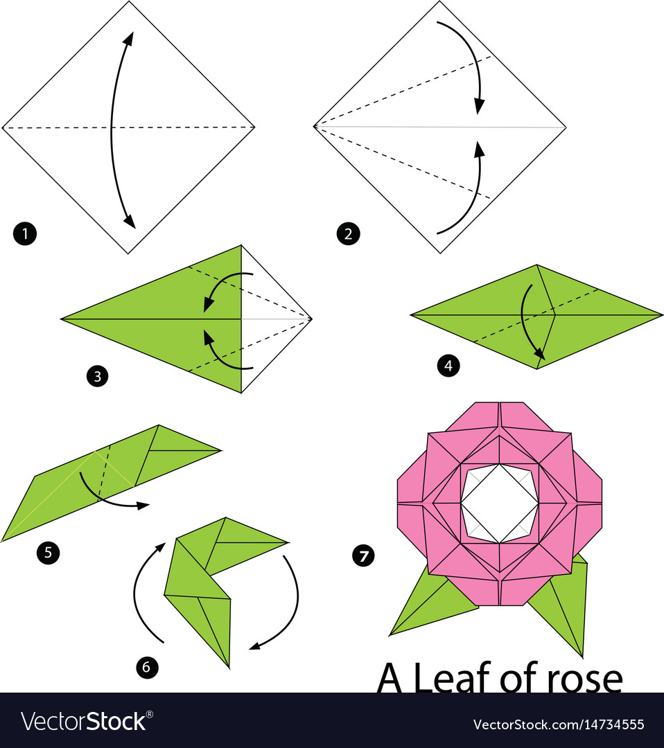 How To Rose Origami | Origami flowers instructions, Easy origami ... | 1080x958