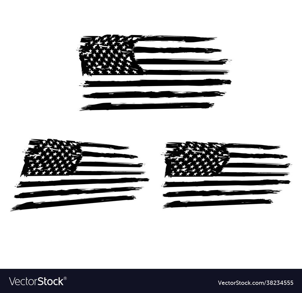Usa flag distressed american flag military army