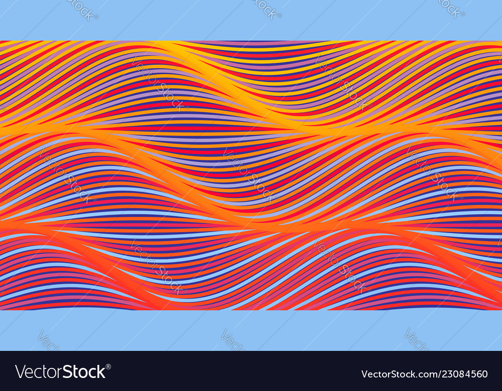 Abstract background with wavy lines cover design