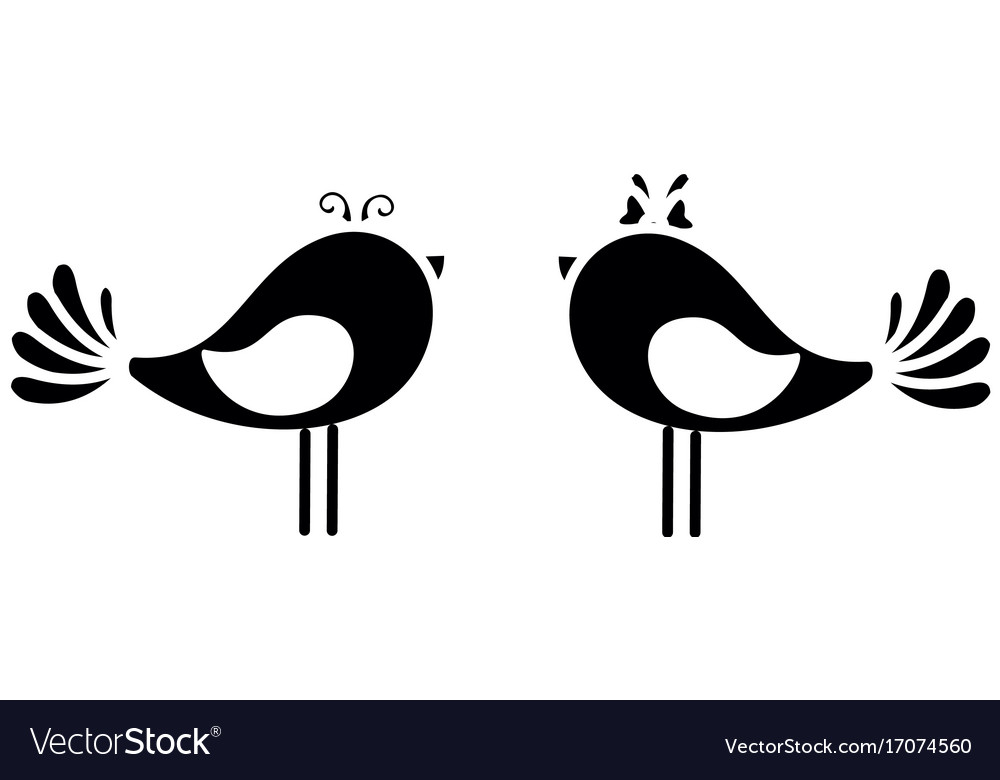 Couple of doves icon