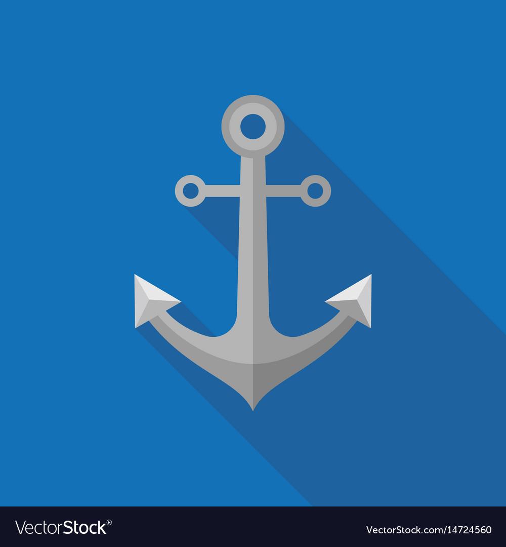 Metal anchor icon