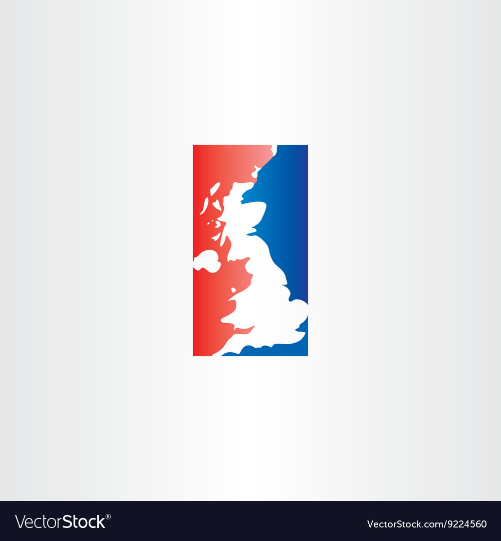 United kingdom logo icon map