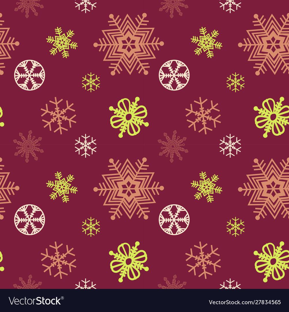 Christmas festive seasonal seamless pattern