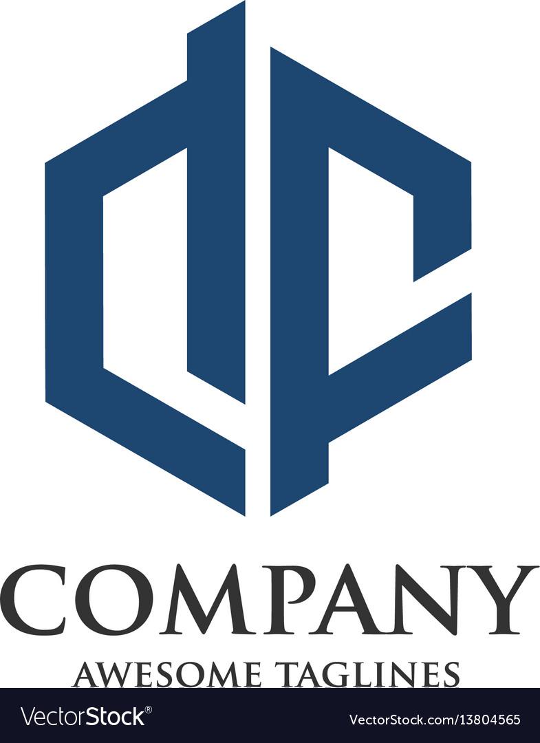 Creative letter df logo