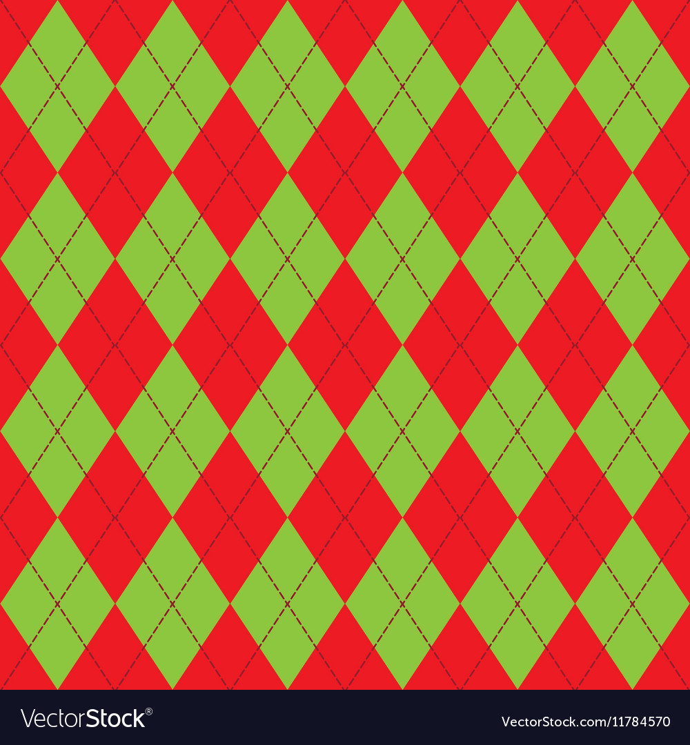 Seamless pattern with rhombus