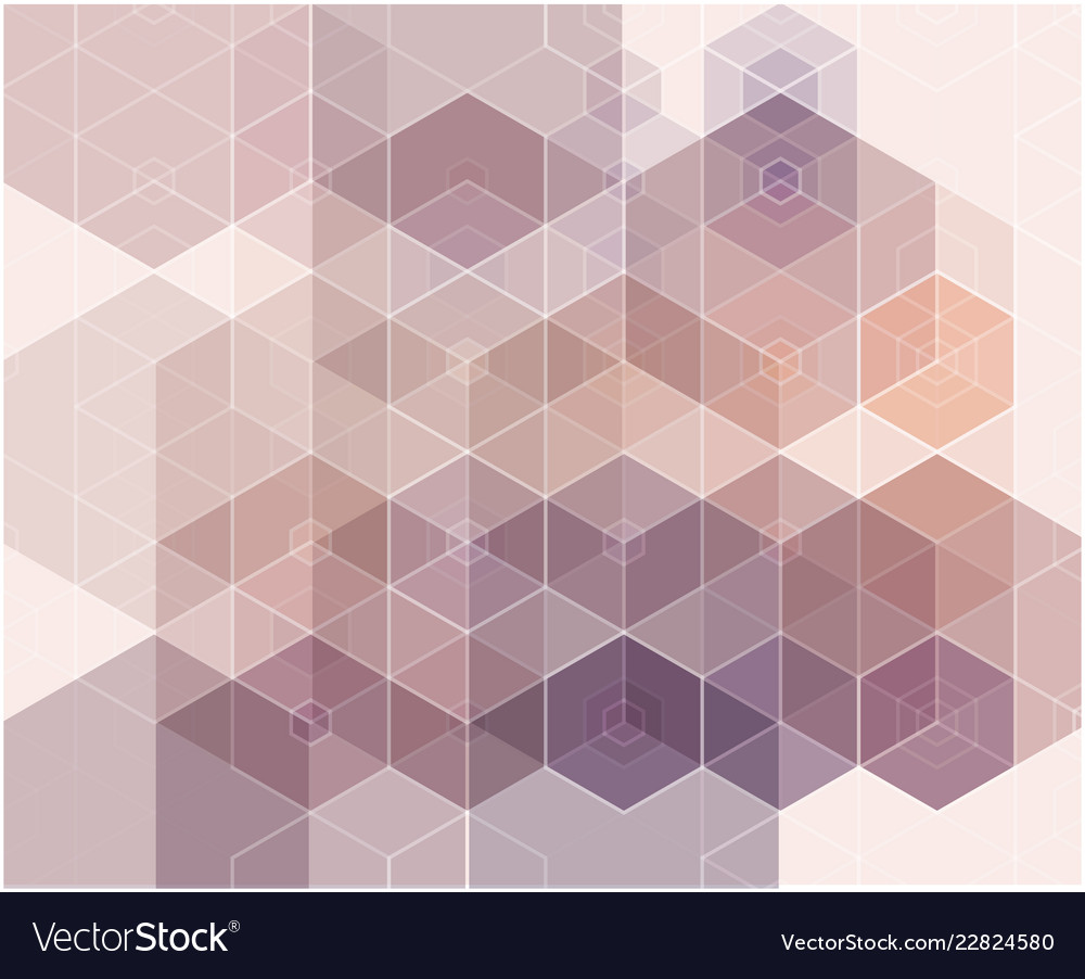 Abstract blue purple color hexagon background