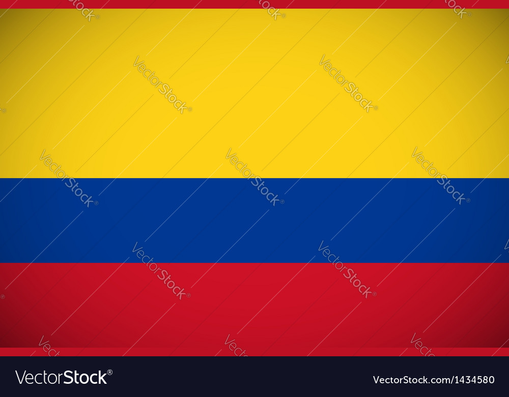 National flag colombia