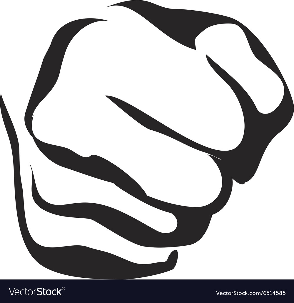 Line Art Fist