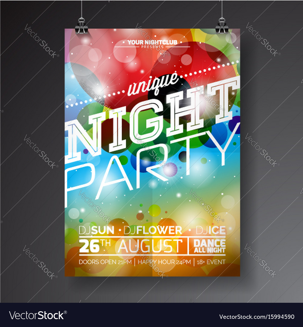 party flyer maker online free