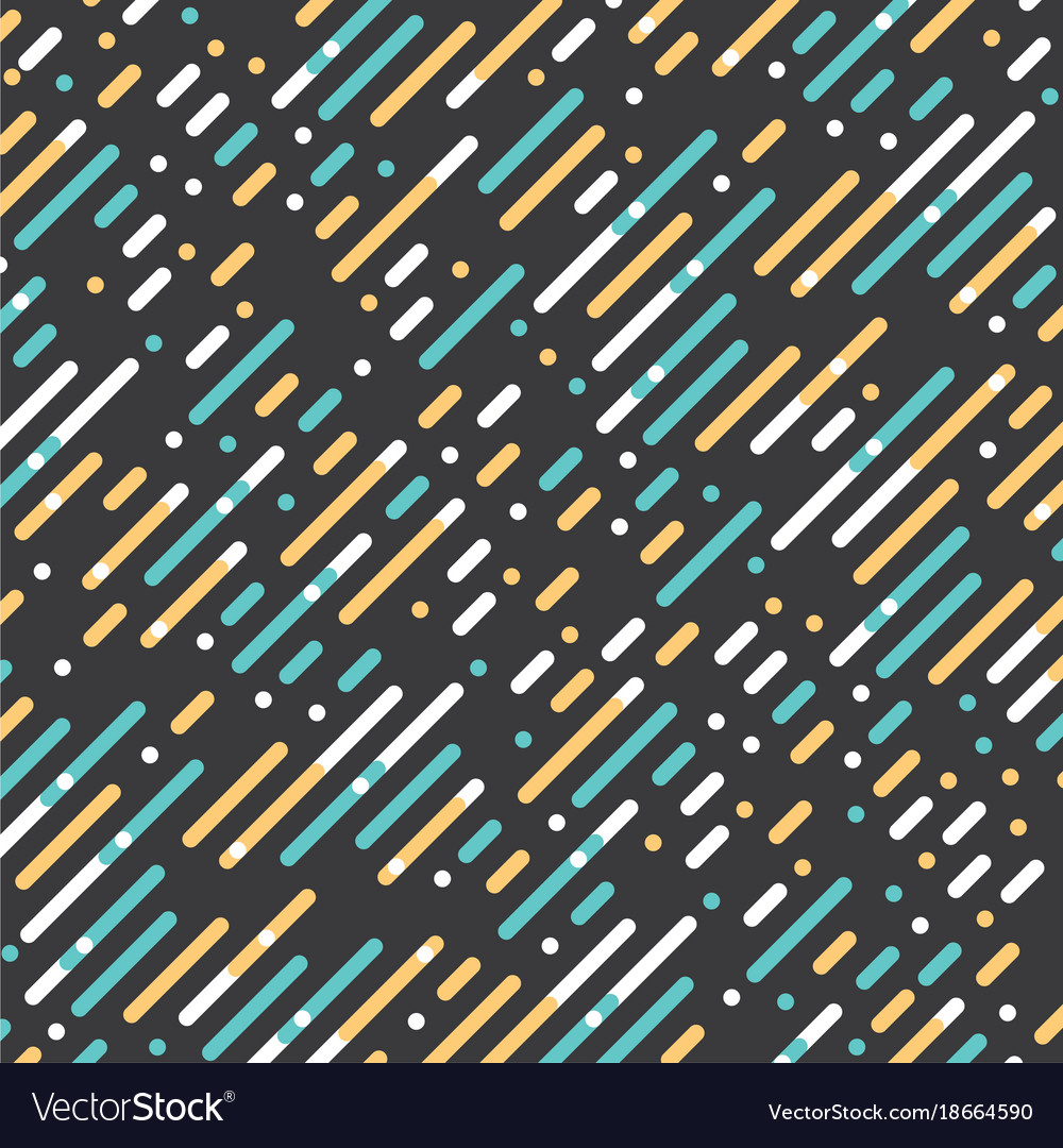 Parallel diagonal overlapping color lines pattern
