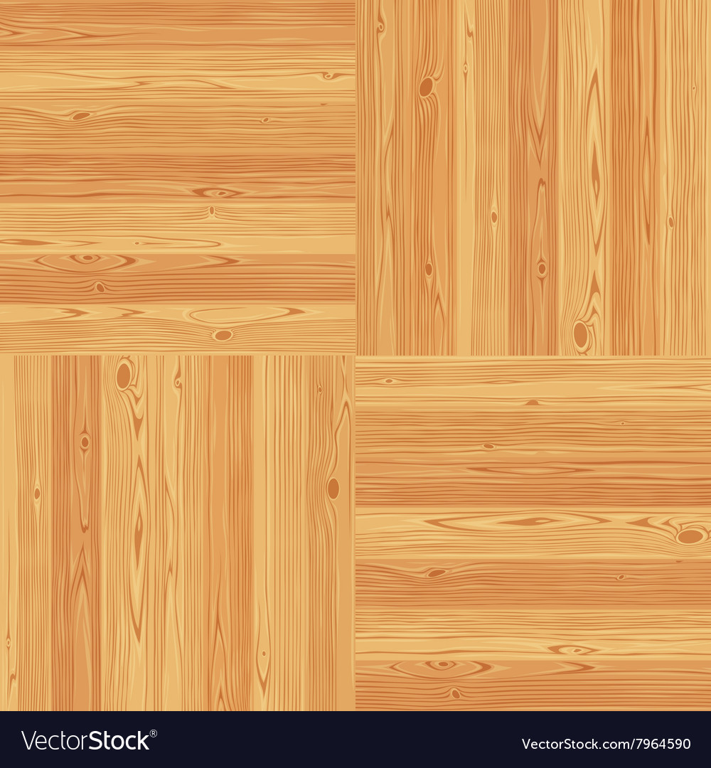 Square Parquet Seamless Floor Pattern Royalty Free Vector