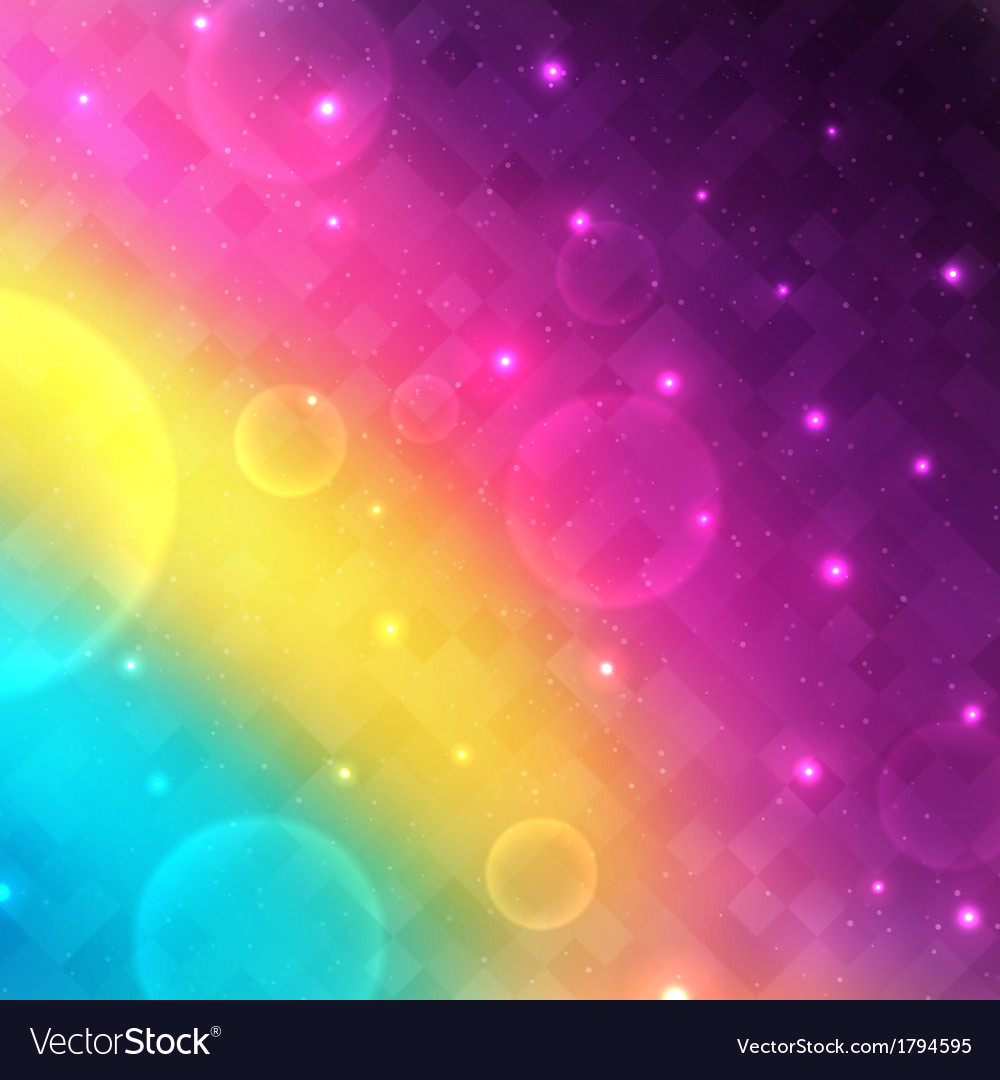 Abstract glowing background with transparent