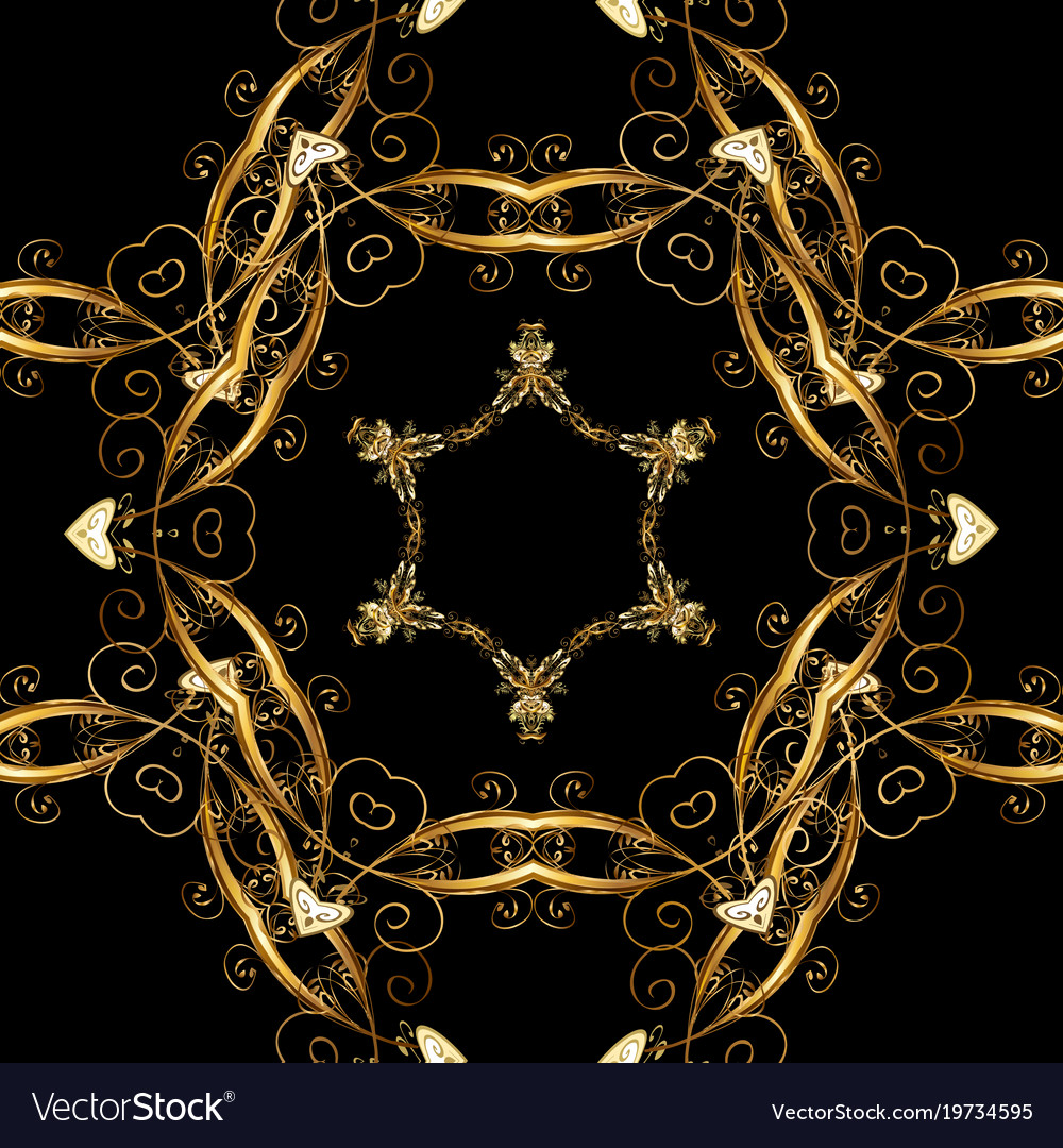 black and gold wallpaper Gold wallpaper on texture background gold black Vector Image black and gold wallpaper