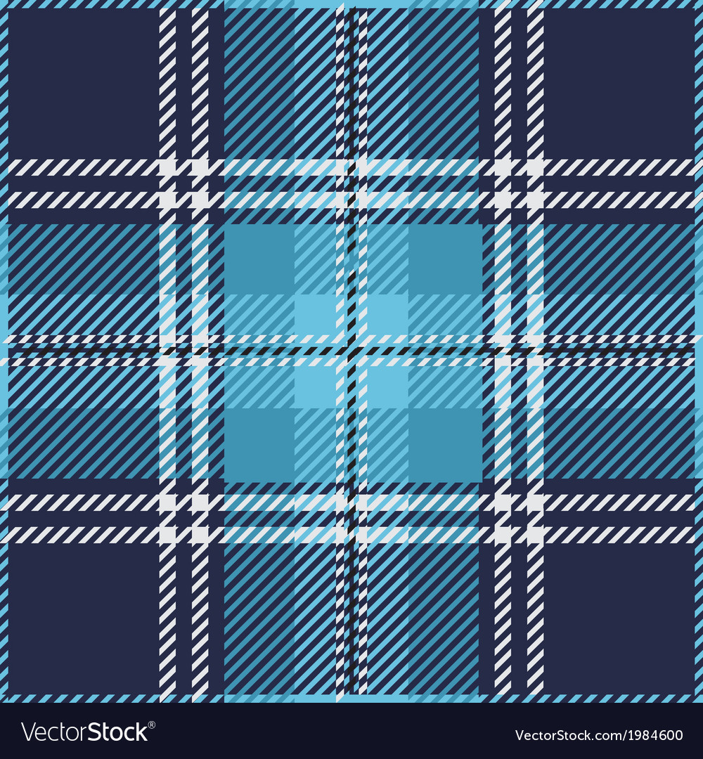 Blue Tartan Plaid Pattern