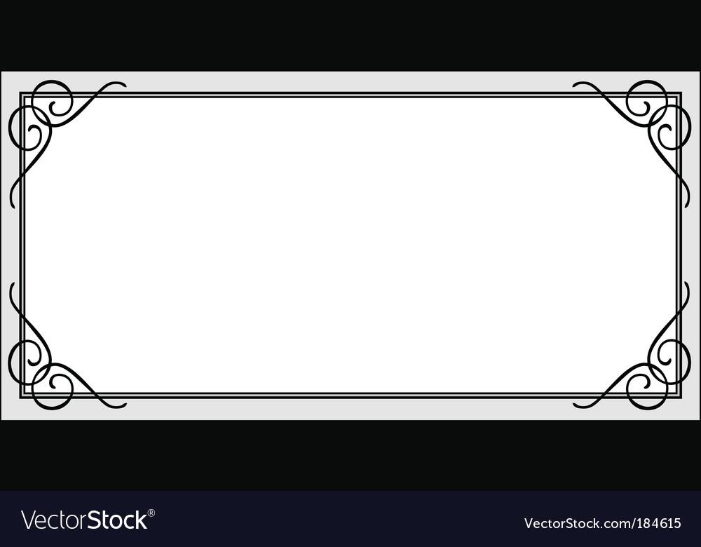 Certificate frame Royalty Free Vector Image - VectorStock