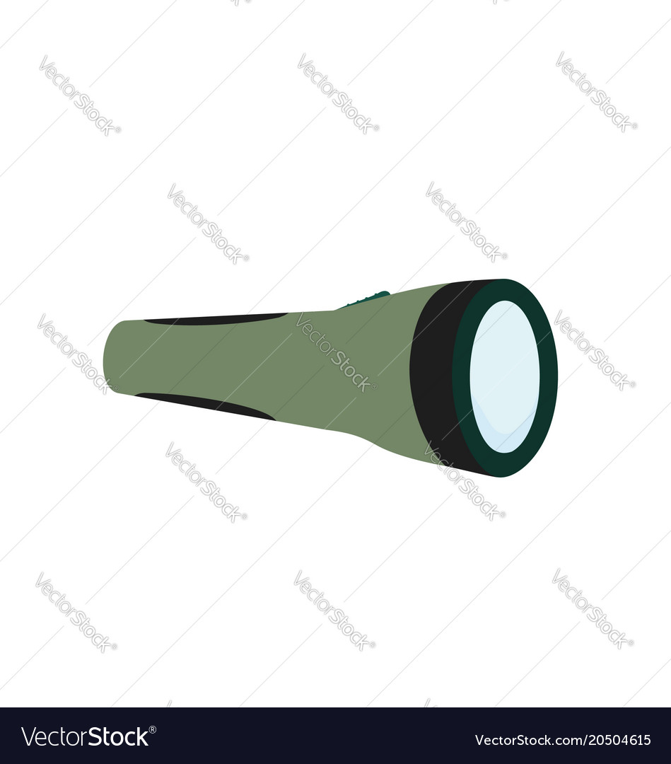 Torch tool isolated icon vector image