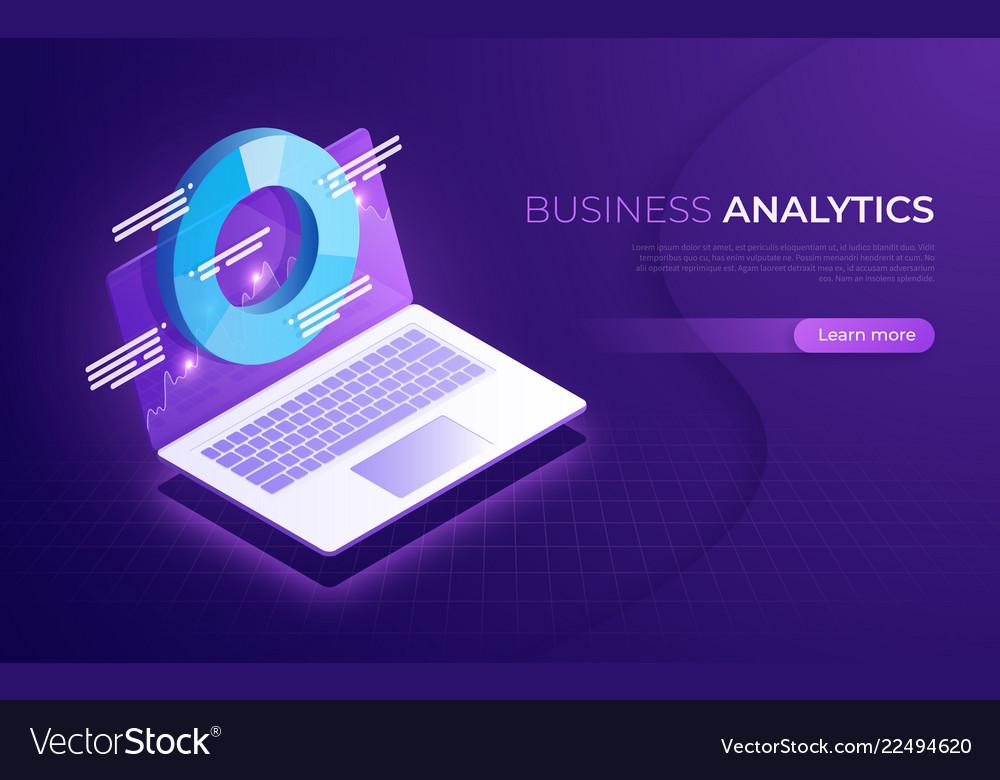 Business analytics data analysis financial