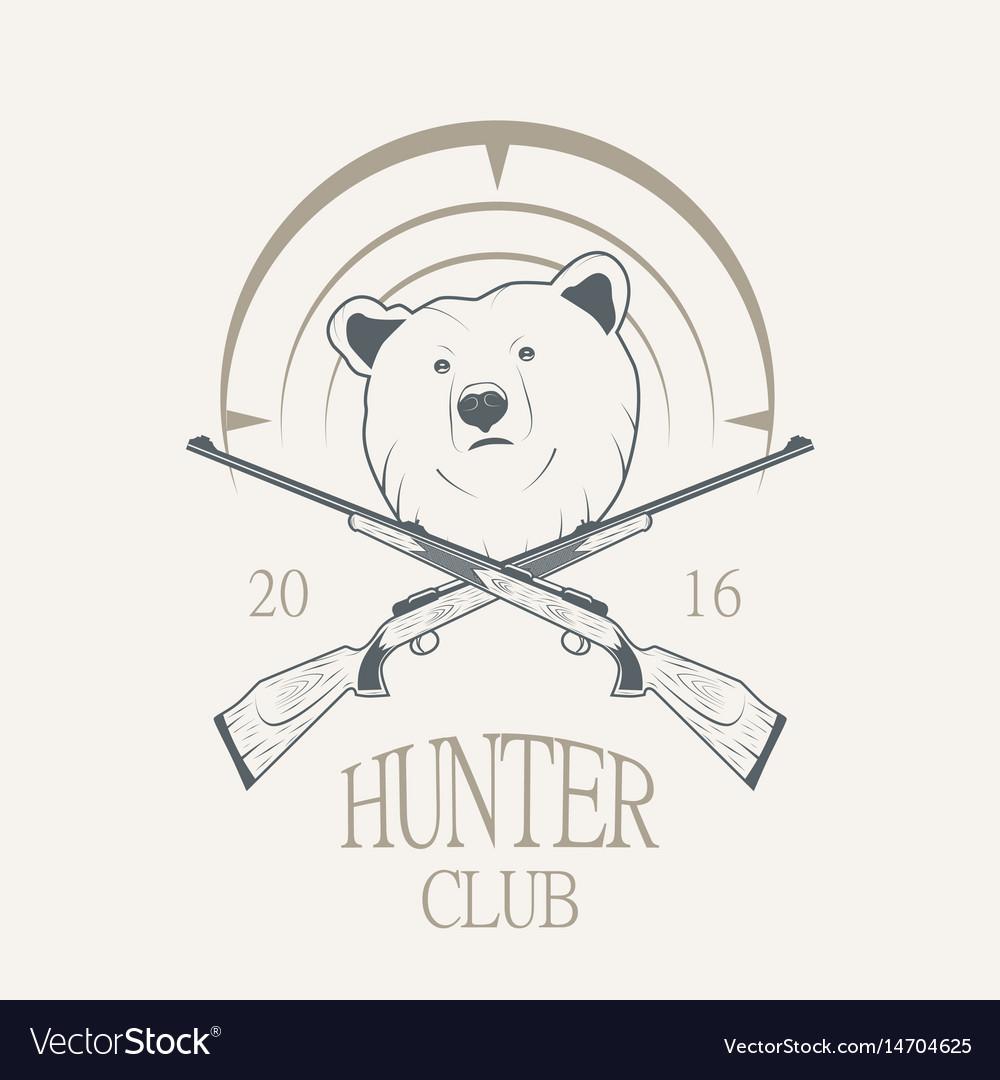 A bear and a gun