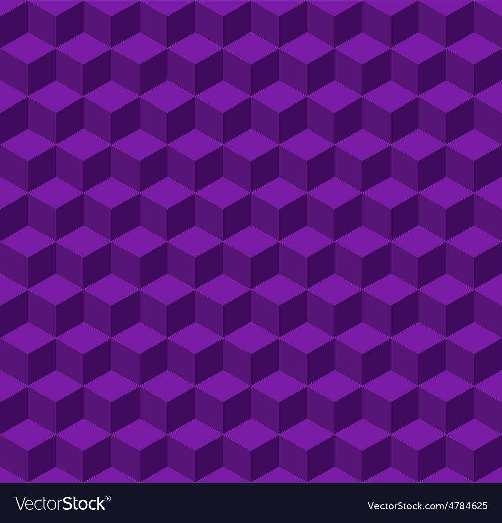 Geometric seamless background vector image