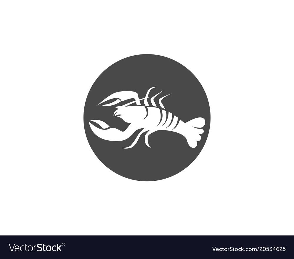 Icon crayfish lobster