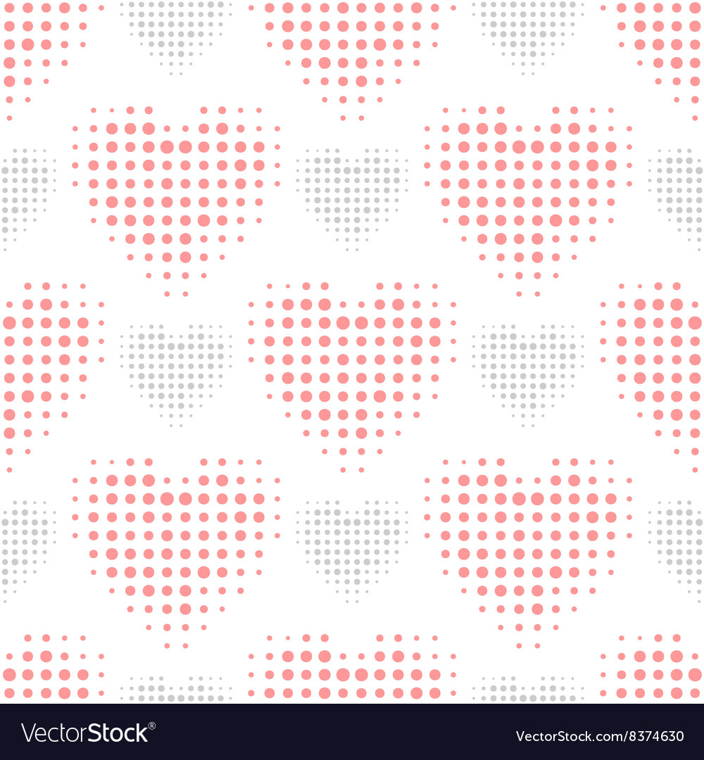 Color love seamless pattern