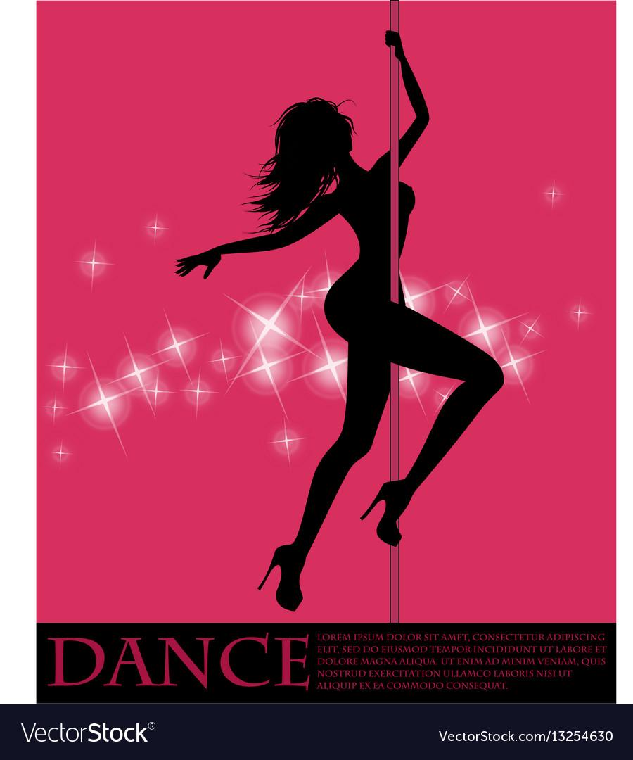 Pole dancer girl